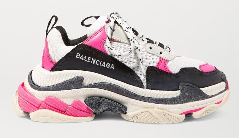 Balenciaga Tripe S White Pink