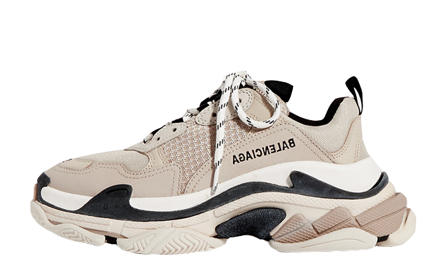 Balenciaga Triple S Brown White
