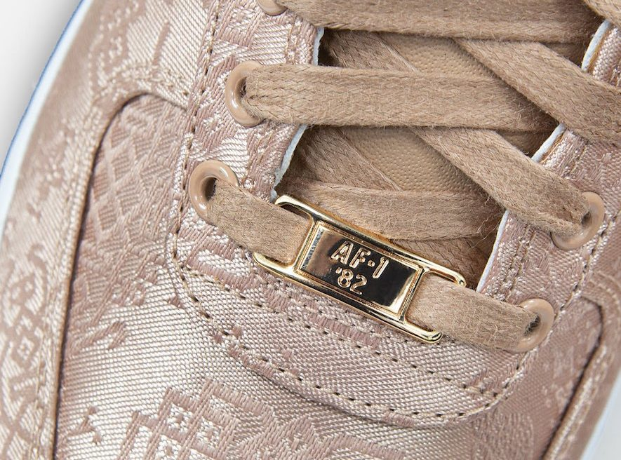 CLOT-Nike-Air-Force-1-Low-Rose-Gold-CJ5290-600-Release-Date-5 lace stay