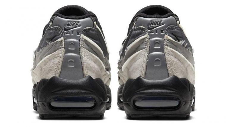 COMME des GARÇONS x Nike Air Max 95 Grey back thumbnail image