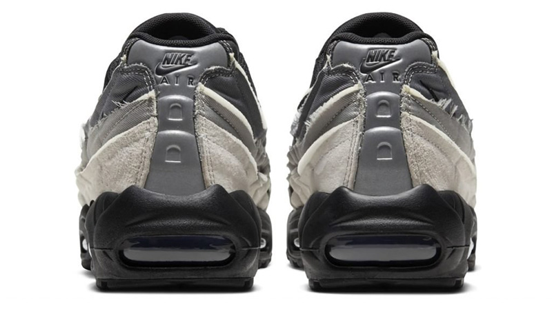 COMME des GARÇONS x Nike Air Max 95 Grey back