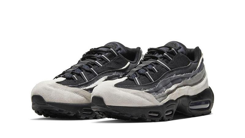 COMME des GARÇONS x Nike Air Max 95 Grey front