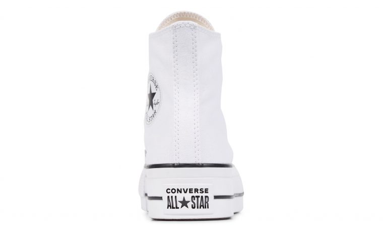 Chuck Taylor All Star Platform Canvas High-Top | 560846C heel thumbnail image