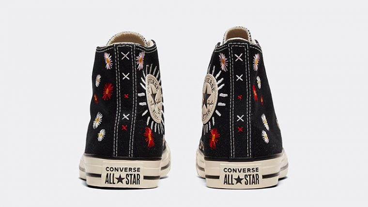 Converse Chuck Taylor All Star Hi Self Expression Black Ivory back thumbnail image