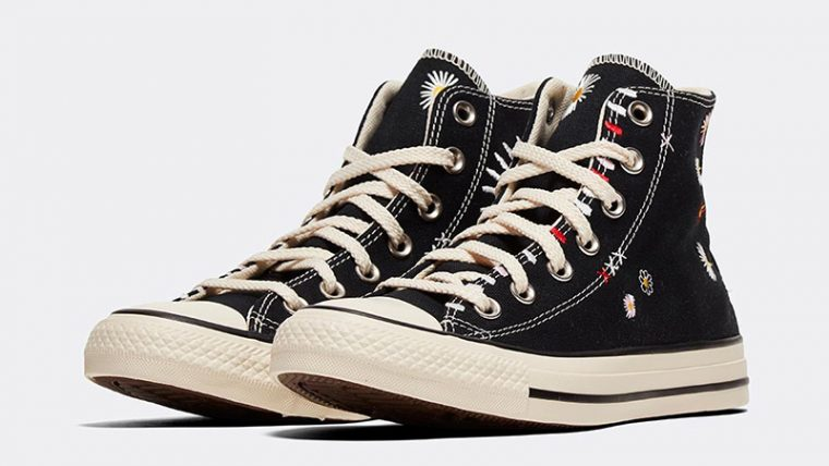 Converse Chuck Taylor All Star Hi Self Expression Black Ivory front thumbnail image