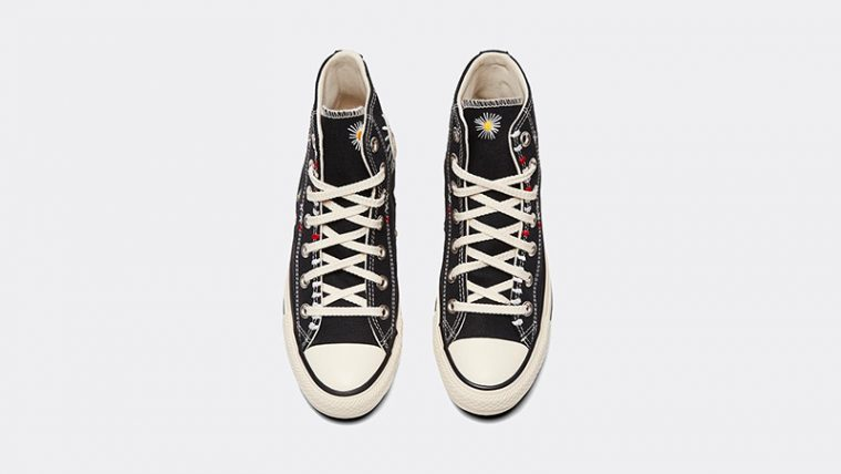 Converse Chuck Taylor All Star Hi Self Expression Black Ivory middle thumbnail image