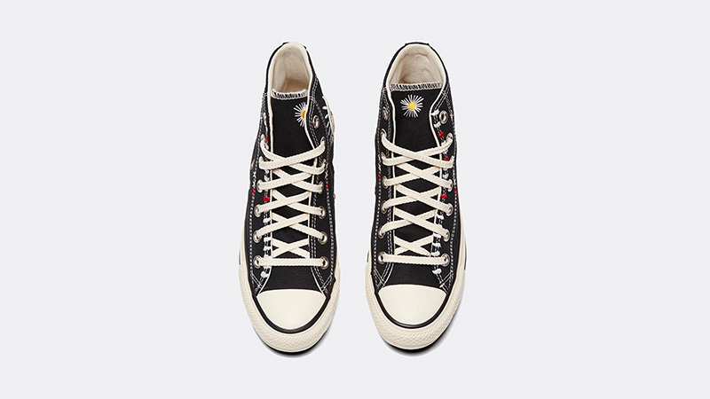 Converse Chuck Taylor All Star Hi Self Expression Black Ivory middle