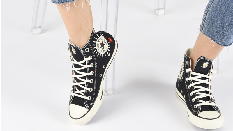 Converse Chuck Taylor All Star Hi Self Expression Black Ivory