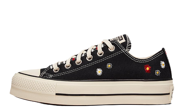 Converse Chuck Taylor All Star Low Self Expression Black Ivory