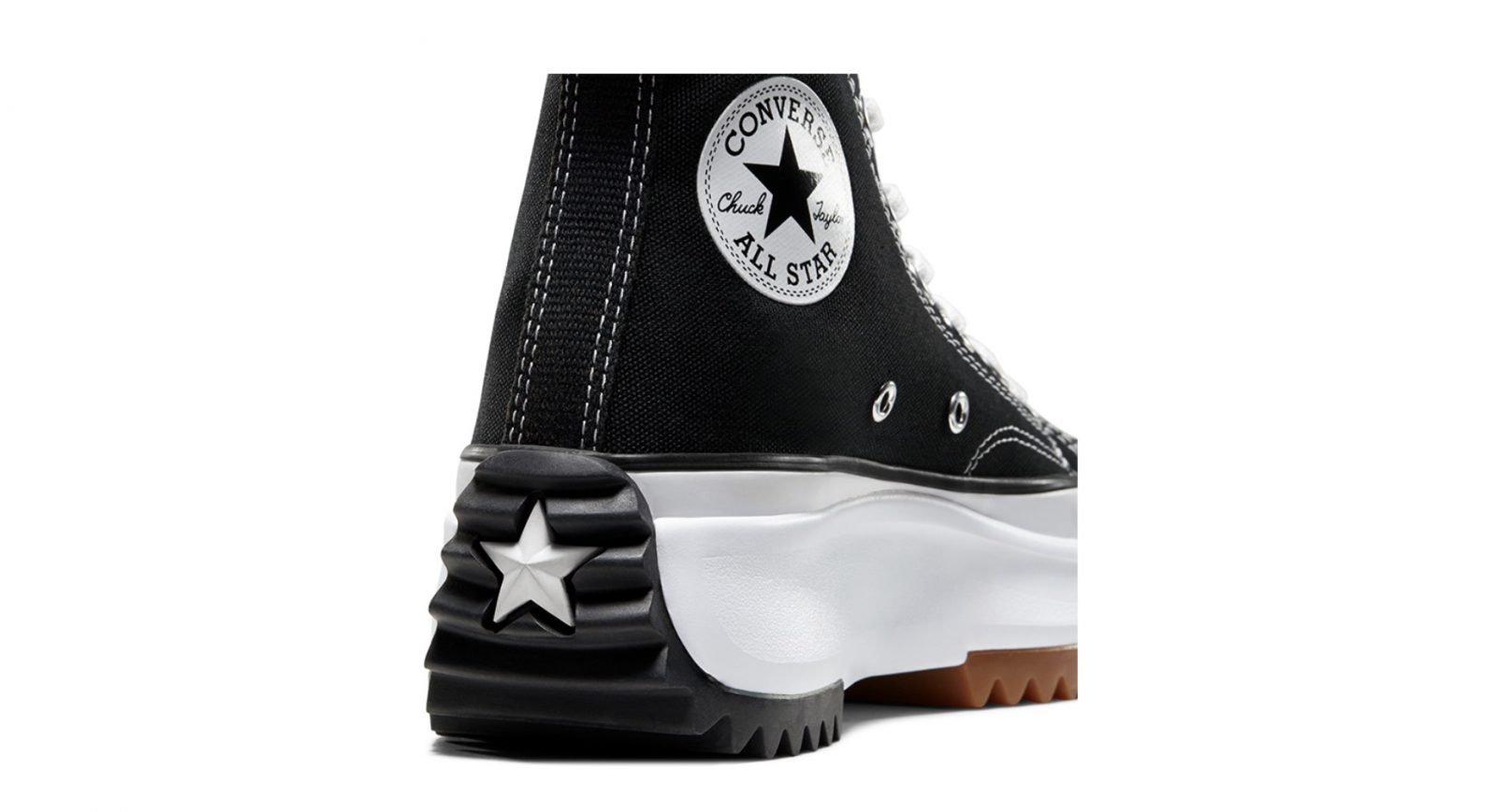 Converse Runstar Hike Black   166800C heel