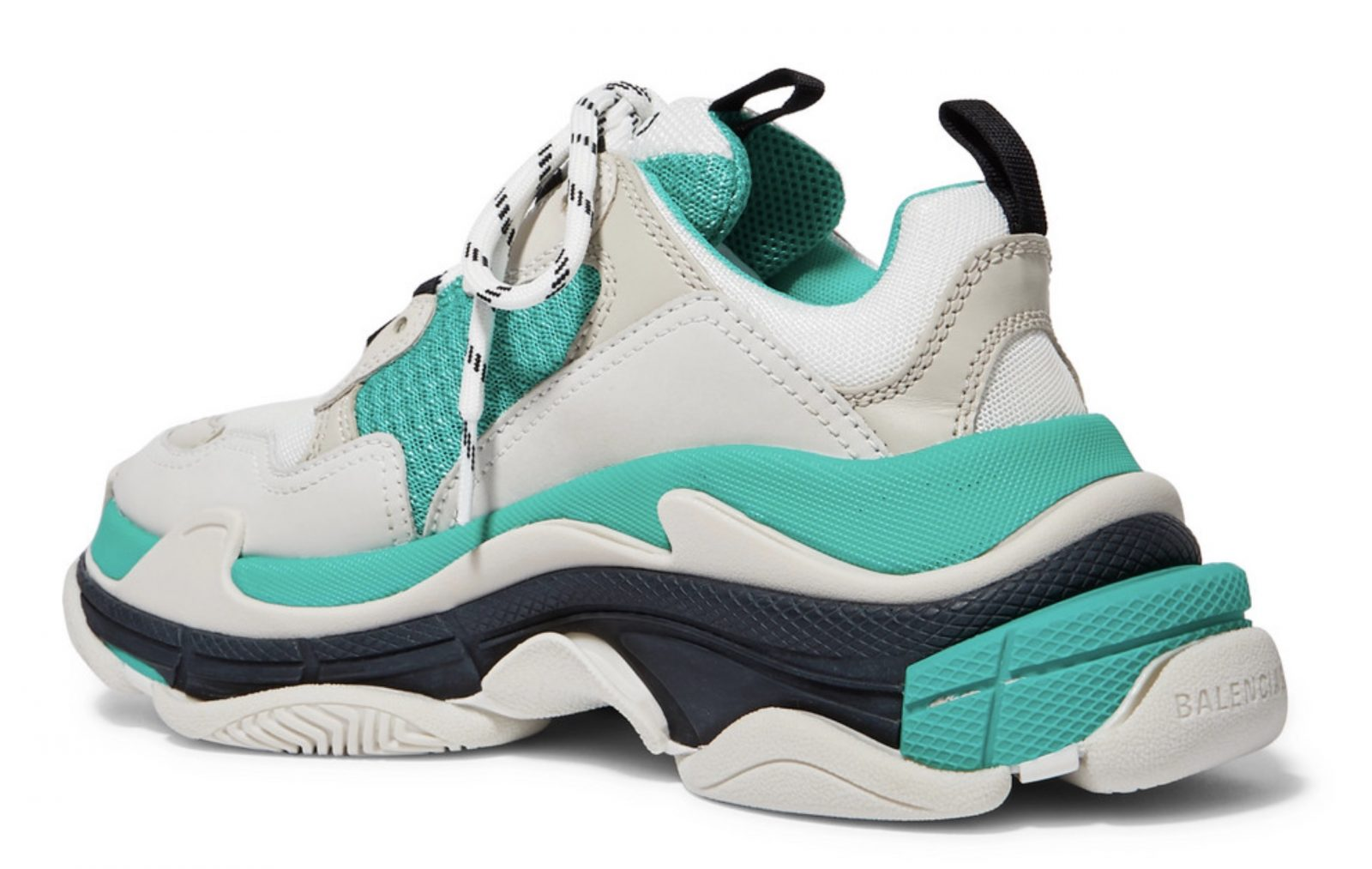 Cop The Stand-Out Balenciaga Triple S With 30% Off Now! heel