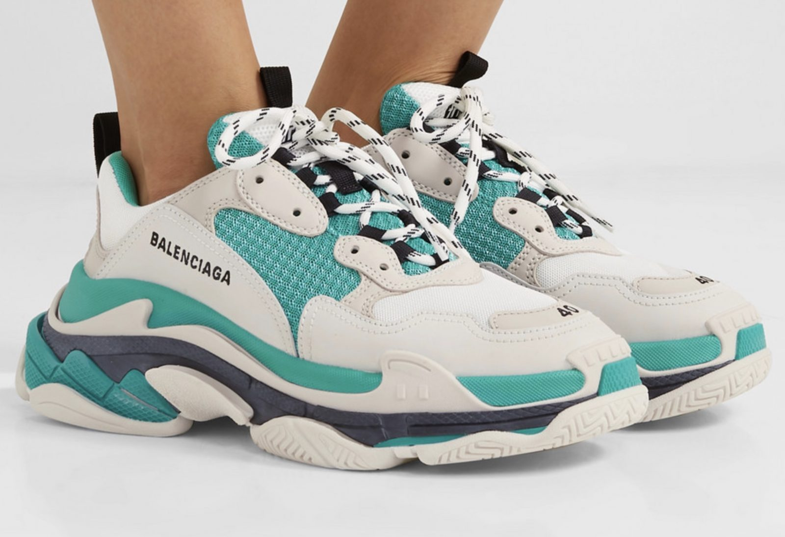 Cop The Stand-Out Balenciaga Triple S With 30% Off Now! on foot