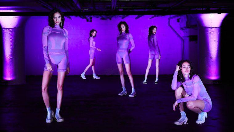 Kith x MSBHV purple gym set