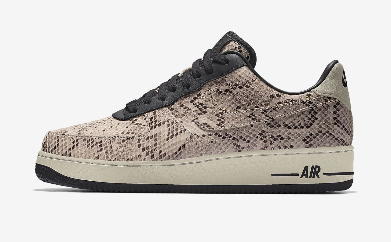 Nike Air Force 1 By You snake