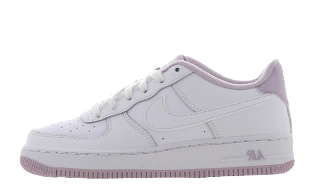 Nike Air Force 1 GS White Purple CD6915-100