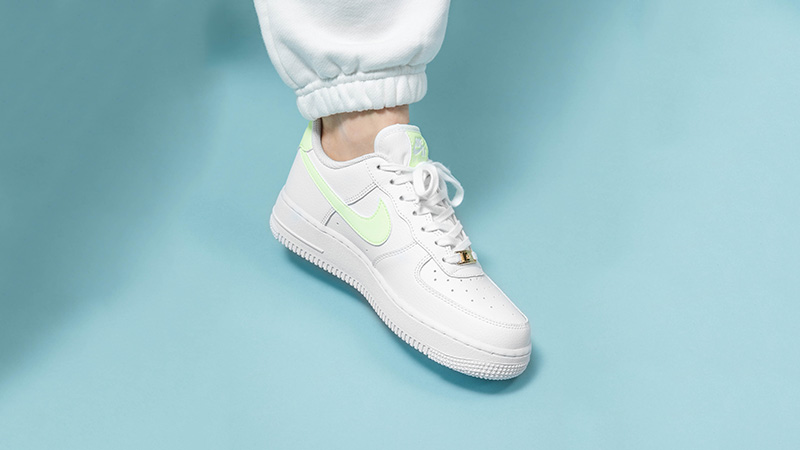 Nike Air Force 1 Low White Barely Volt | 315115-155