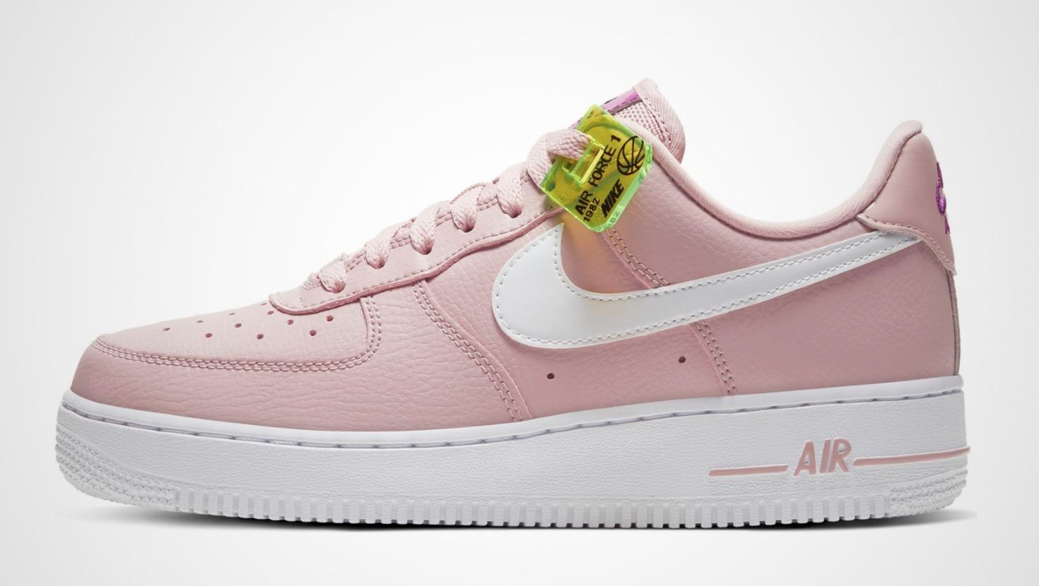 Nike Air Force 1 Pink White