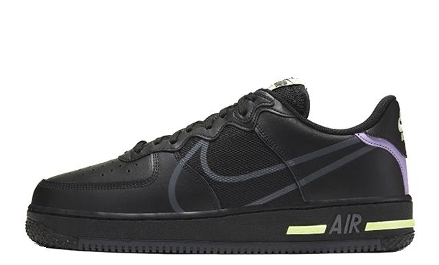 Nike Air Force 1 React D MS X Black CD4366-001