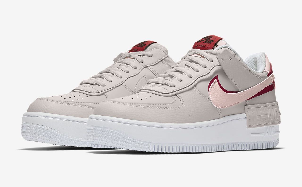 Nike Air Force 1 Red Pink