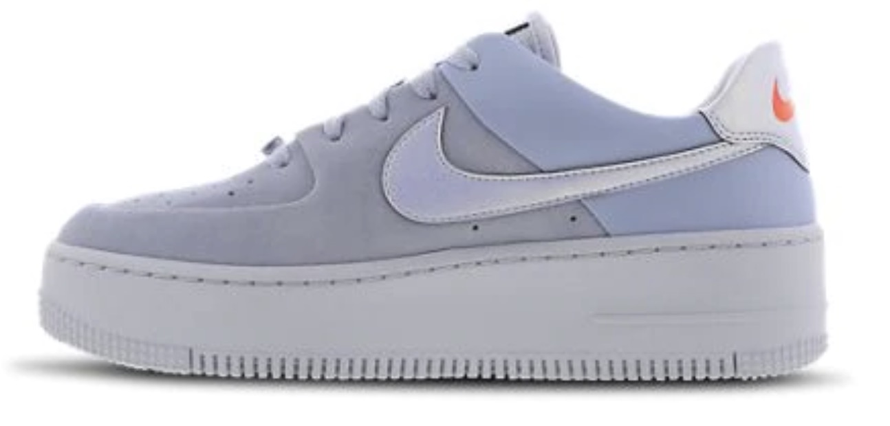 Nike Air Force 1 Sage Blue The Best Platform Sneakers: 11 Air Force 1 Sage Colourways For 2020