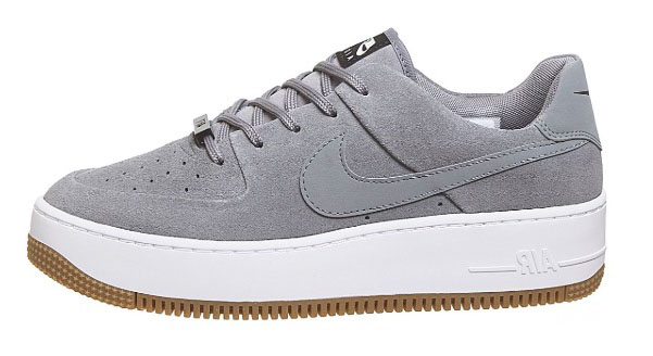 Nike Air Force 1 Sage Grey The Best Platform Sneakers: 11 Air Force 1 Sage Colourways For 2020white