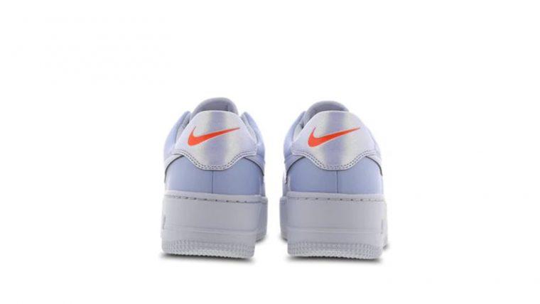 Nike Air Force 1 Sage Hydrogen Blue CV3023-400 back thumbnail image
