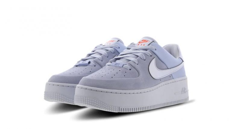Nike Air Force 1 Sage Hydrogen Blue CV3023-400 front thumbnail image