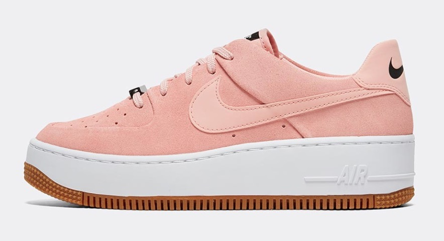 Nike Air Force 1 Sage pink The Best Platform Sneakers: 11 Air Force 1 Sage Colourways For 2020