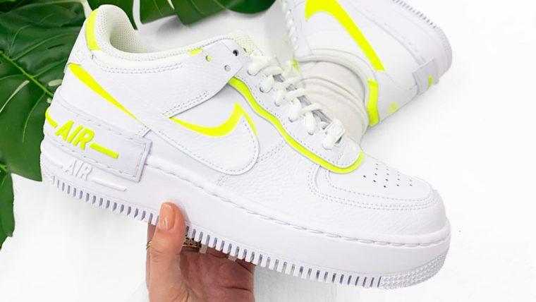 Nike Air Force 1 Shadow Lemon Venom