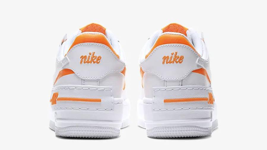 Nike Air Force 1 Shadow White Orange | Where To Buy | CI0919-103 ...