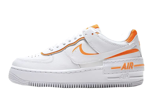 Nike Air Force 1 Shadow White Orange CI0919-103