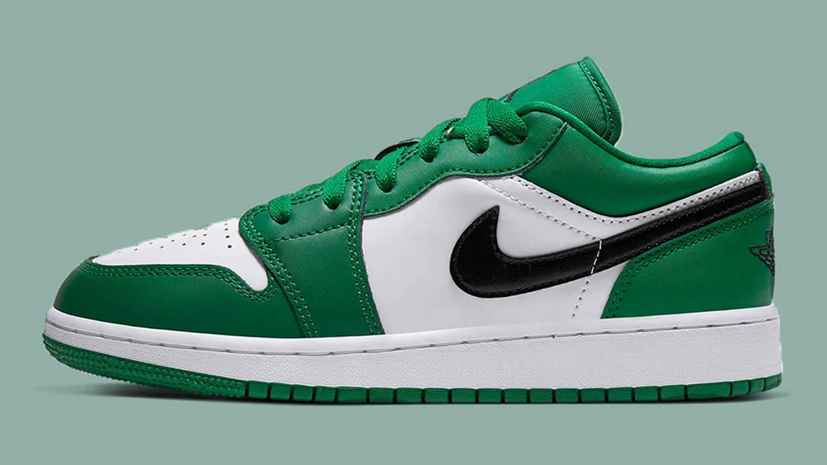 Nike Air Jordan 1 Low Pine Green