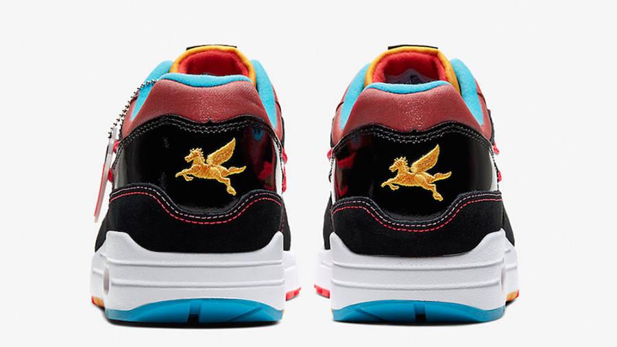 Nike Air Max 1 New York City Chinatown Black Red | Where To Buy ...