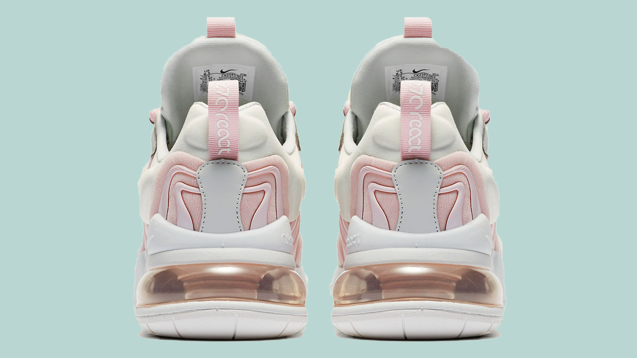 The Nike Air Max 270 React ENG Looks Cute In Pastel Pink