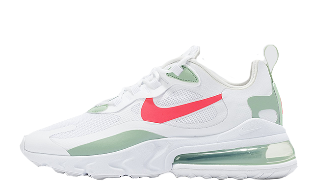 Nike Air Max 270 React White Green