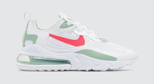 Nike Air Max 270 React White Pistachio Frost
