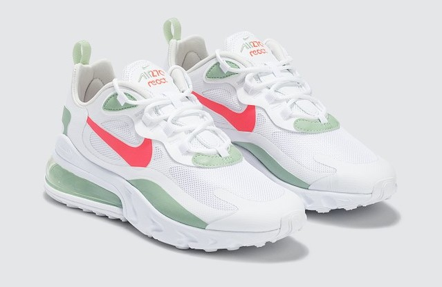 Nike Air Max 270 React White Pistachio Frost side