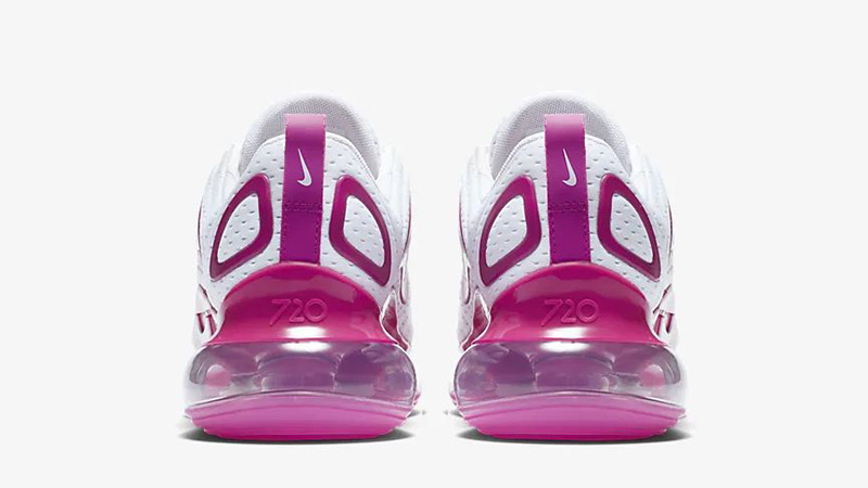 Nike Air Max 720 White Fire Pink CN9506-100 back
