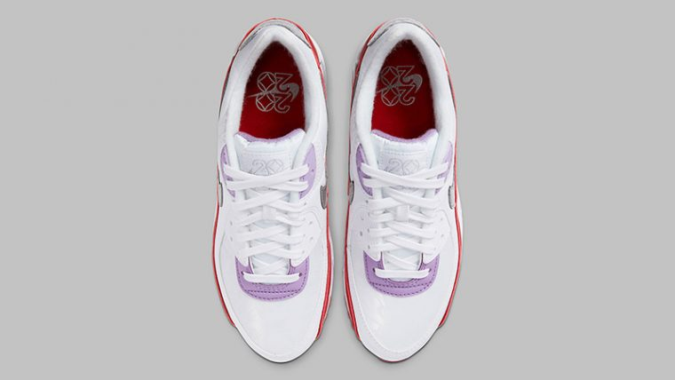 Nike Air Max 90 Chinese New Year CNY 2020 | CU3004-176 4 laces thumbnail image