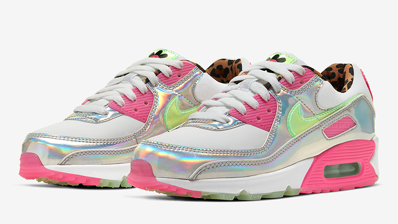 Iridescent Pink Nike Air