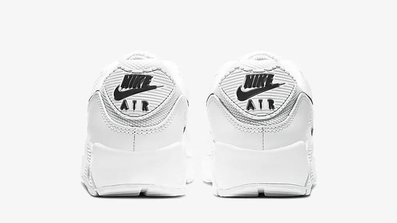 Nike Air Max 90 White Black CQ2560-101 back