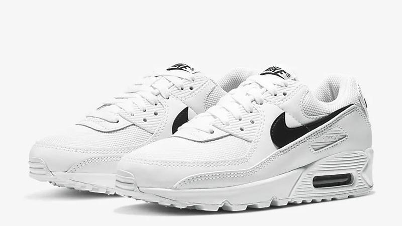 Nike Air Max 90 White Black CQ2560-101 front