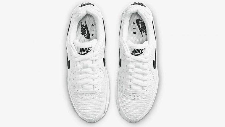 Nike Air Max 90 White Black CQ2560-101 middle thumbnail image