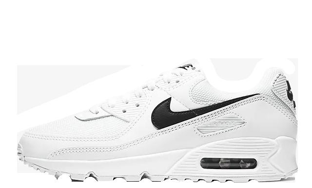 Nike Air Max 90 White Black CQ2560-101