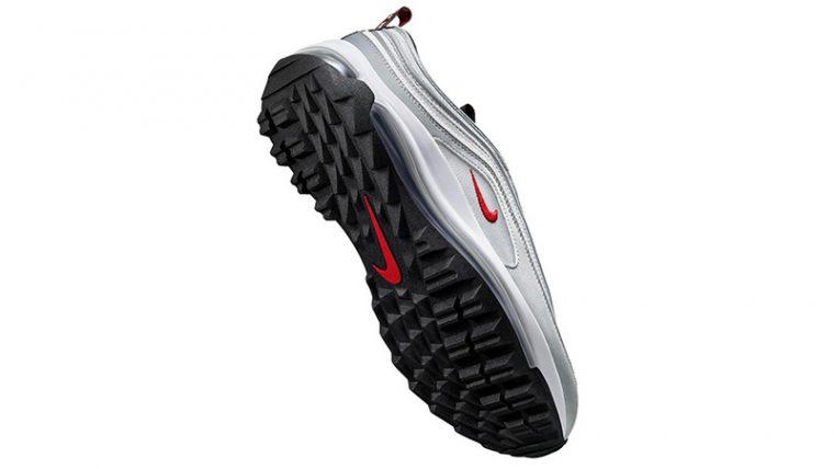 Nike Air Max 97 Silver Bullet Golf CI7538-001 back thumbnail image