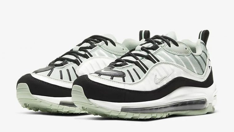 Nike Air Max 98 Pistachio Frost CI3709-300 front thumbnail image