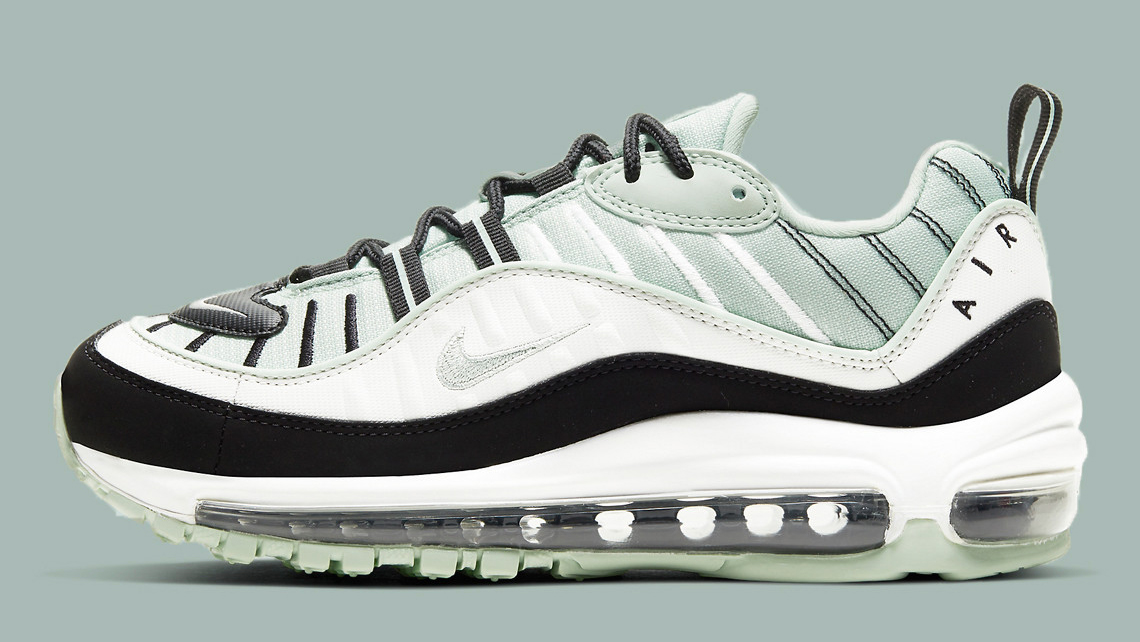 Nike Air Max 98 Pistachio Frost feature