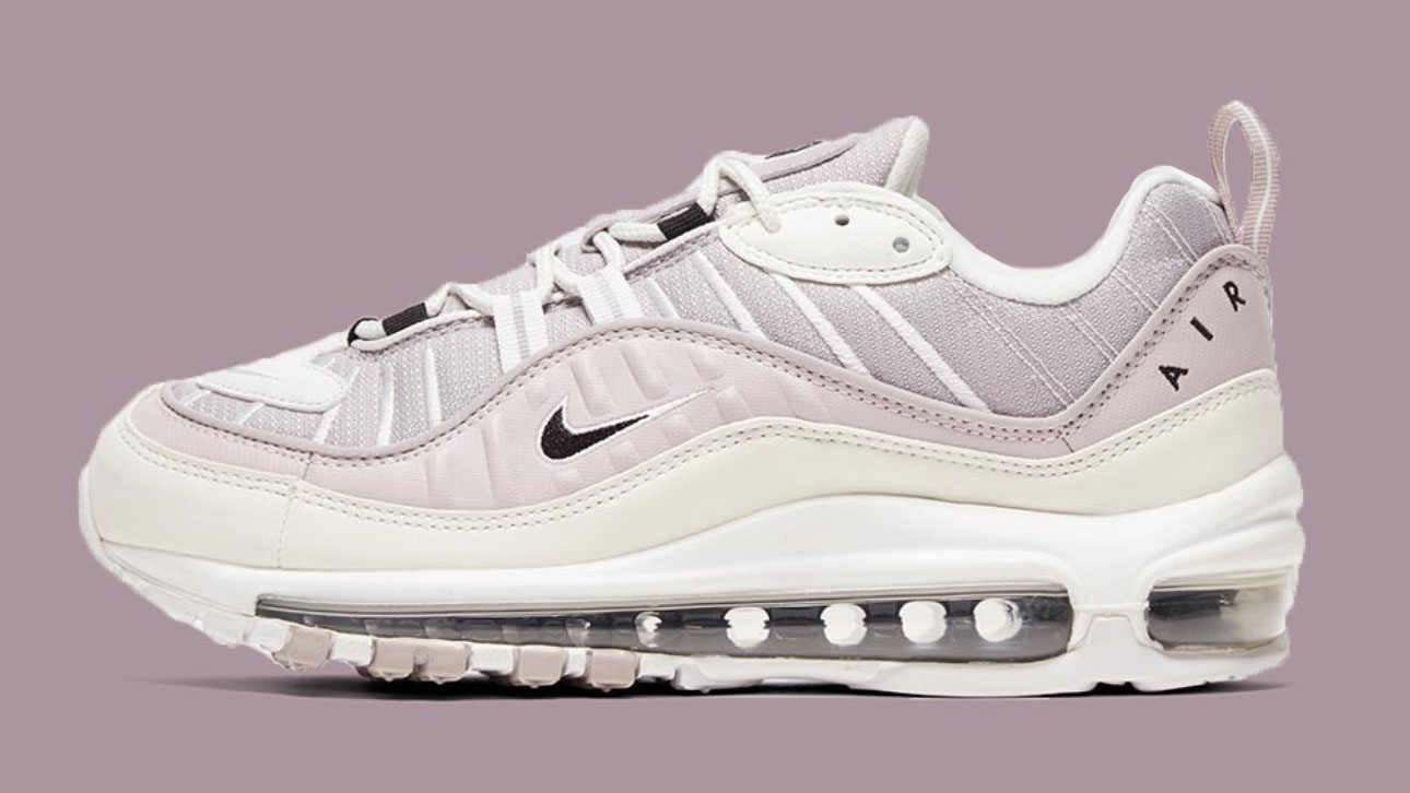 Nike Air Max 98 Silver Lilac side copy