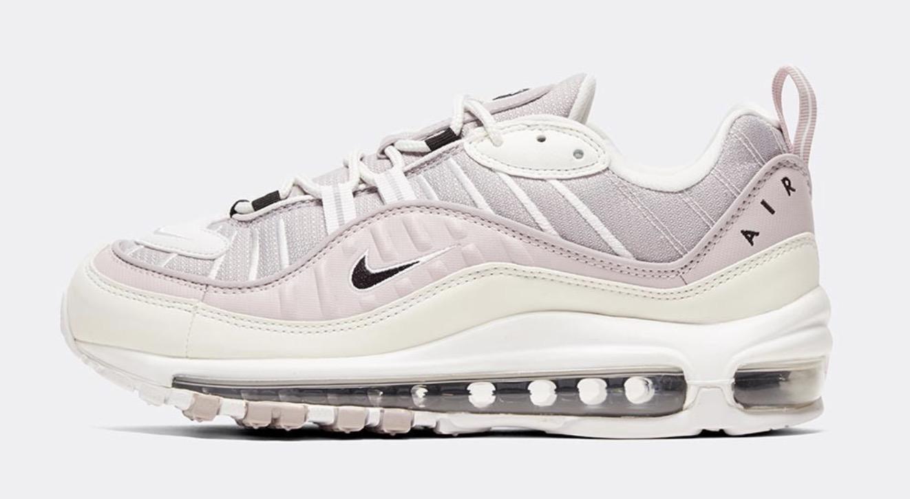 Nike Air Max 98 Silver Lilac side