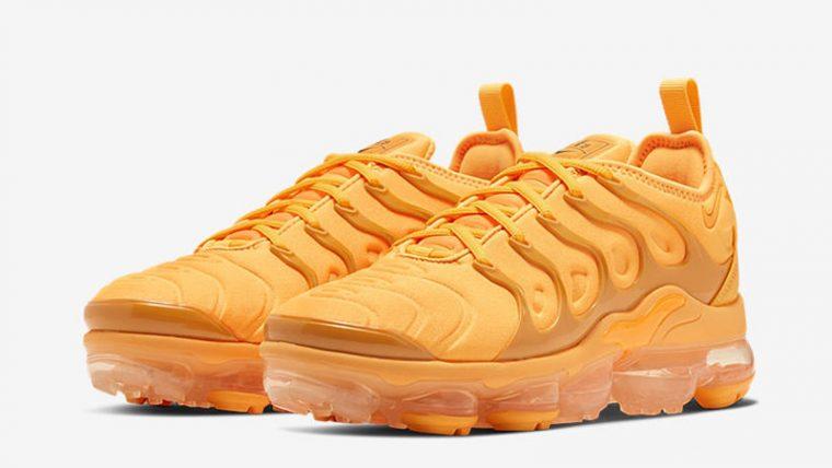 Nike Air VaporMax Plus Orange front thumbnail image